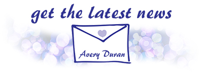 Avery Duran Newsletter sign up
