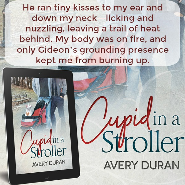 """Cupid in a Stroller"" Gay Romance by Avery Duran"